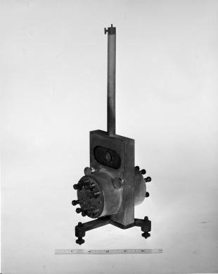 reflecting galvanometer with suspended needle