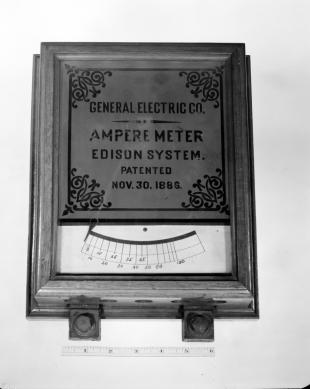 Edison system ampere meter (A.C.)