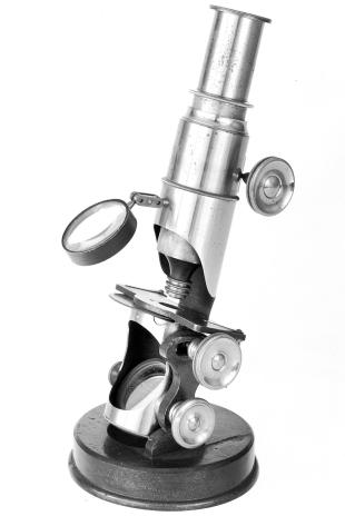 inclining drum compound microscope