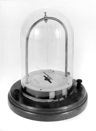 astatic galvanometer with moving magnet