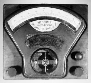 milli-voltmeter, Weston DC model 1