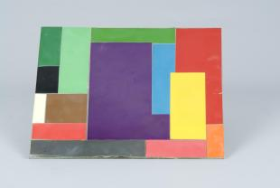 """Mondrian"" color panel, small"