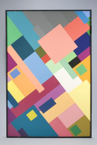 """Mondrian"" color panel"