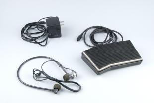 A/C adapter for transcriber