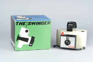 box for Polariod instant camera, Swinger