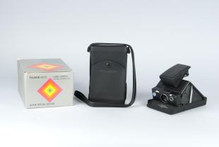 leather case for Polariod instant camera, SX-70 Alpha Special Edition
