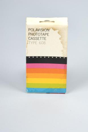 Polaroid type 608 Polavision phototape cassette