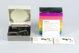 Box for close-up kit for Polaroid instant cameras