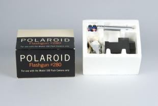 box for flashgun for Polaroid instant cameras