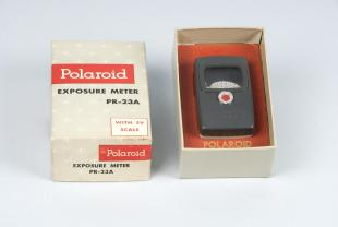 exposure meter for Polaroid instant cameras
