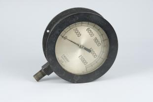 steam engine high-pressure gauge