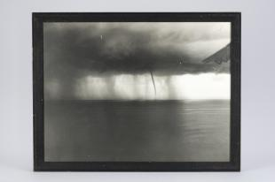 photograph of a waterspout off Havana