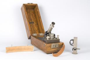 portable galvanometer with telescope