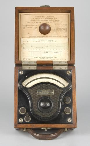 general electric voltmeter