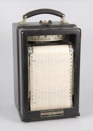 ammeter with strip chart recorder