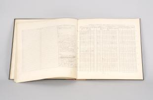 log book from Blue Hill Meteorological Observatory
