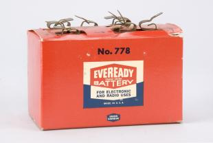 Eveready battery, No. 778