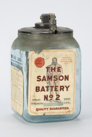Samson No. 2 sal-ammoniac and carbon battery