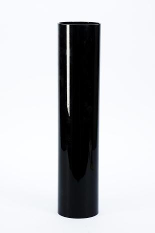 black glass cylinder