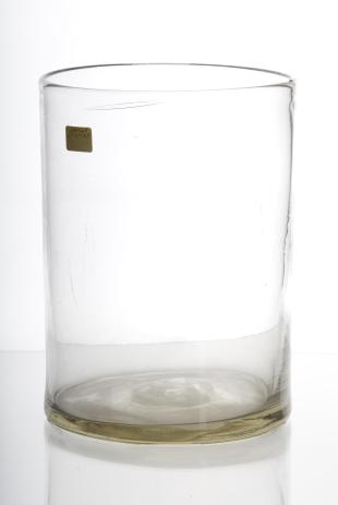 cylindrical glass