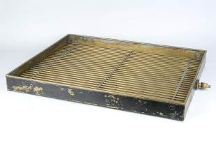 oil drip tray to hold resistance standards