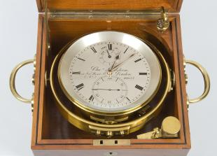 8-day marine chronometer