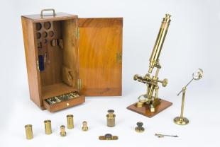 Mark Twain's compound microscope
