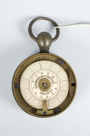 portable watchman's clock
