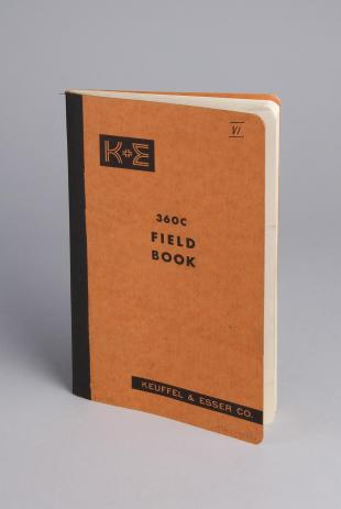 surveying field book