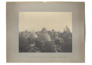 research talk illustration: Astronomical Observatory of Harvard College