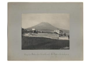 research talk illustration: Arequipa Station from the South-west
