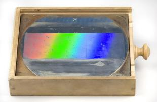 Rowland concave diffraction grating