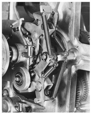 IBM ASCC-Mark I photo album: close-up of Mark I gear mechanism