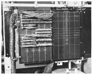 IBM ASCC-Mark I photo album: bottom-leftmost panel of multiply-divide unit