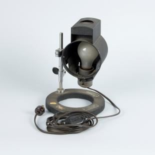AO model 370 adjustable laboratory and microscope lamp