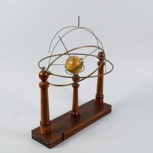 armillary sphere with 3-inch globe