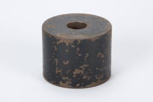 cylindrical iron weight