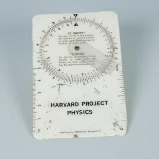 Harvard Project Physics student slide chart
