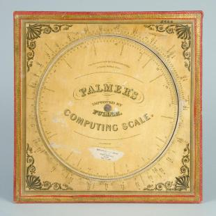 Palmer's Computing Scale with Fuller's Time Telegraph, issue four