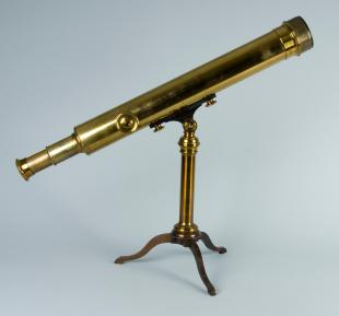 2.25-inch refracting telescope