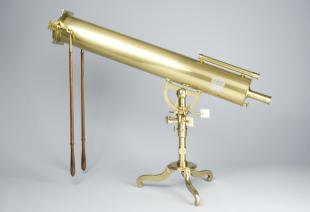 2-foot Gregorian reflecting telescope with split object glass micrometer