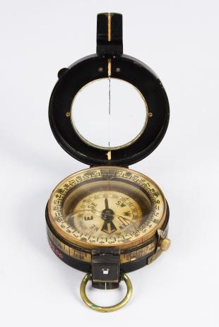 liquid prismatic compass