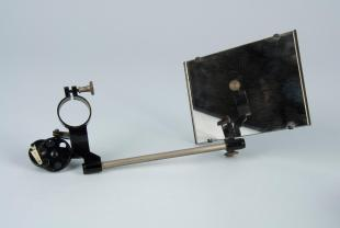 Abbe-type microscope camera lucida