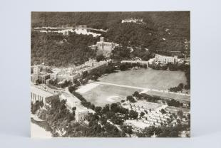 aerial photograph of the West Point Military Academy