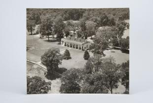 aerial photograph of Mount Vernon