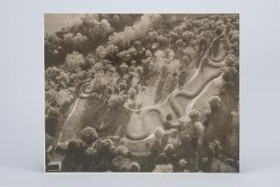 aerial photograph of Serpent Mount (Ohio)