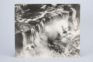 aerial photograph of Niagara Falls