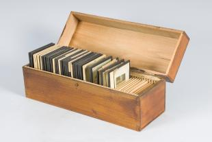 30 Lantern slides belonging to William James