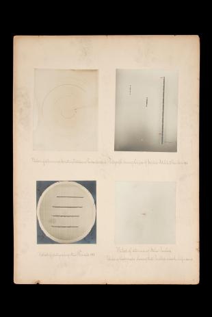 research talk illustration:  Examples of Pickerings photographic methods