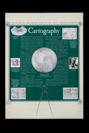 poster on early modern cartography, Whipple Museum of the History of Science